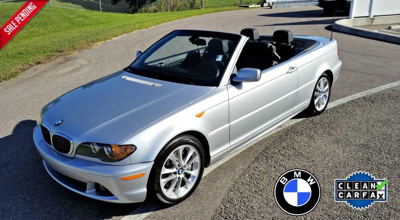2004 BMW 330Ci CI CONVERTIBLE CLEAN CARFAX LOW MILES   Palmetto, FL   EA Motorsports in Palmetto FL