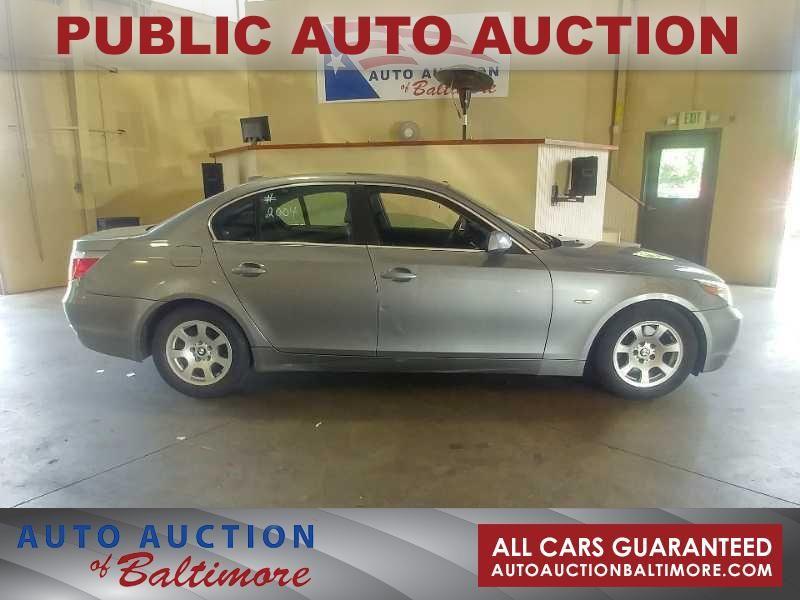 2004 BMW 525i  | JOPPA, MD | Auto Auction of Baltimore  in JOPPA MD
