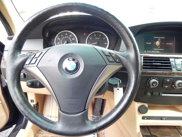 2004 BMW 545i 6-SPEED MANUAL W/SPORT/PREMIUM/NAVIGATION Leesburg, Virginia 16
