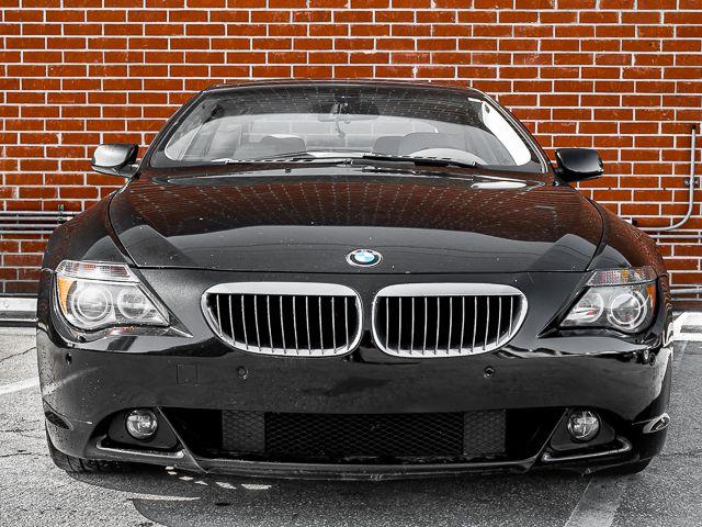 2004 BMW 645Ci MANUAL 6sp manual Burbank, CA 2