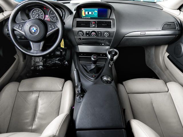 2004 BMW 645Ci MANUAL 6sp manual Burbank, CA 7