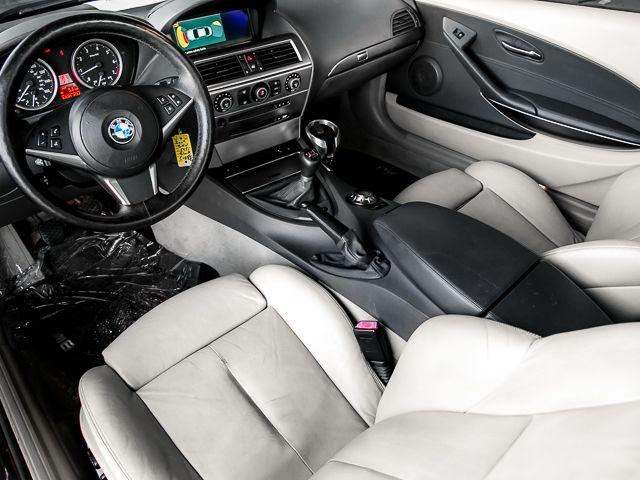 2004 BMW 645Ci MANUAL 6sp manual Burbank, CA 8