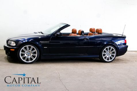 2004 BMW M3 Convertible w/Cinnamon Interior, Navigation, Heated Seats, Harman/Kardon Audio & 19-Inch Wheels in Eau Claire