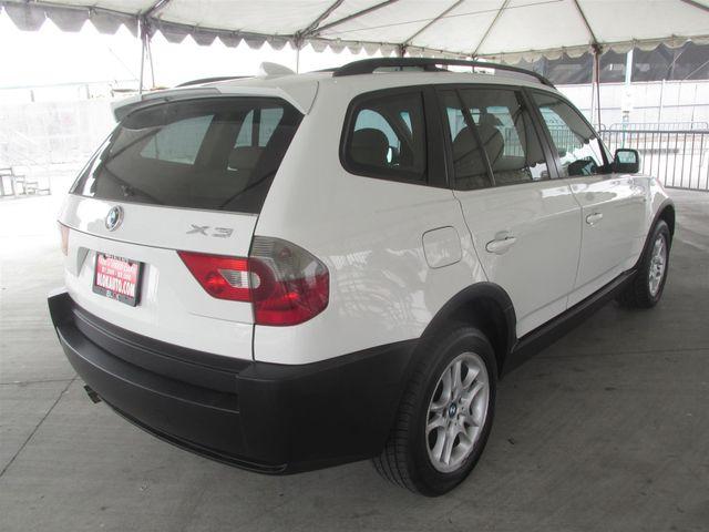 2004 BMW X3 2.5i Gardena, California 2