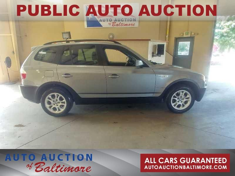 2004 BMW X3 2.5i  | JOPPA, MD | Auto Auction of Baltimore  in JOPPA MD