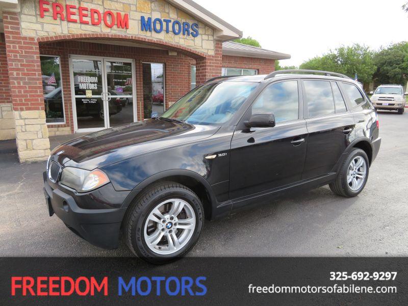 2004 BMW X3 3.0i  | Abilene, Texas | Freedom Motors  in Abilene Texas