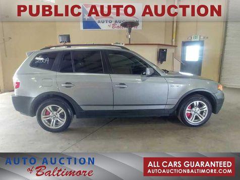 2004 BMW X3 3.0i    JOPPA, MD   Auto Auction of Baltimore  in JOPPA, MD