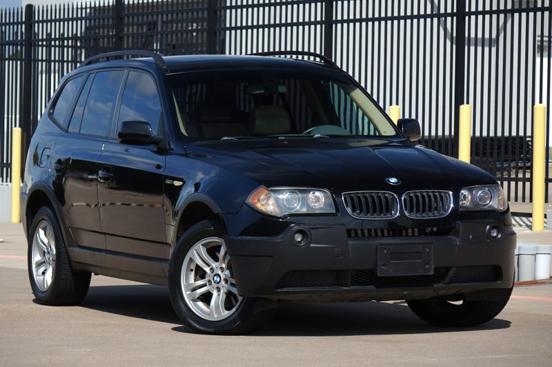 2004 BMW X3 3.0i AWD*Only 113k mi* Leather* Sunroof* EZ Finance** | Plano, TX | Carrick's Autos in Plano TX
