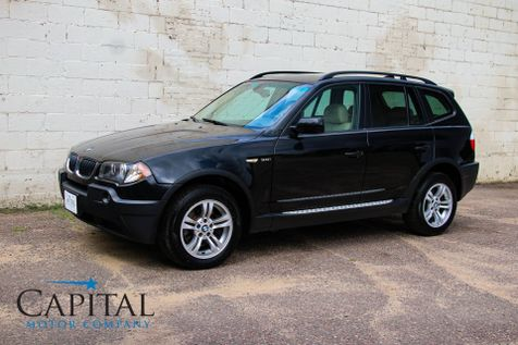 2004 BMW X3 xDrive AWD Sport Crossover w/6-Speed Manual, Panoramic Moonroof, Heated Seats & Hi-Fi Audio Pkg in Eau Claire
