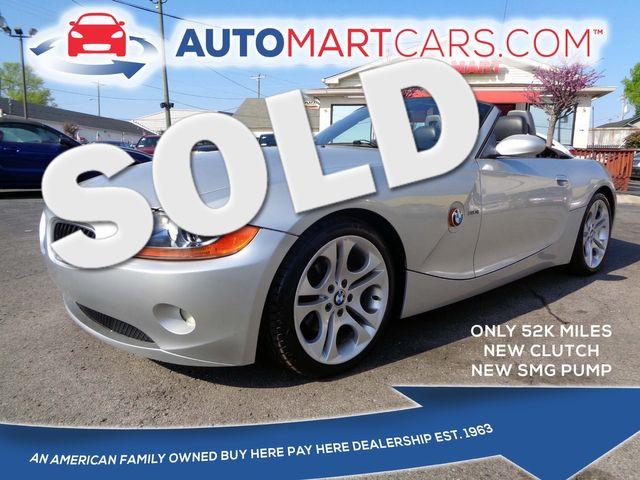 2004 BMW Z4 3.0i  | Nashville, Tennessee | Auto Mart Used Cars Inc. in Nashville Tennessee