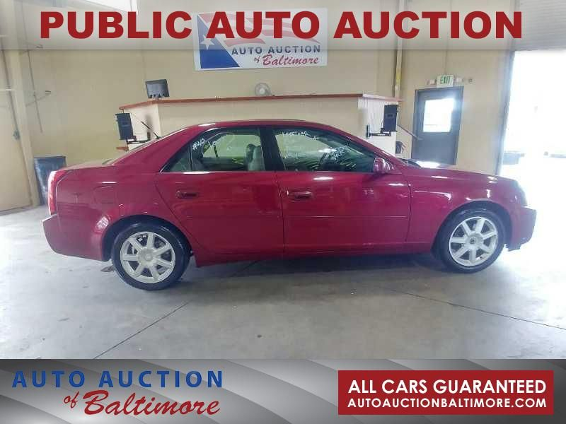 2004 Cadillac Cts Joppa Md Auto Auction Of Baltimore Joppa Md
