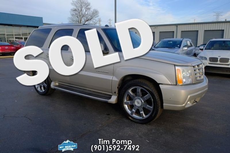 2004 Cadillac Escalade W/ 2012 22` Wheels custome leather interior | Memphis, Tennessee | Tim Pomp - The Auto Broker in Memphis Tennessee