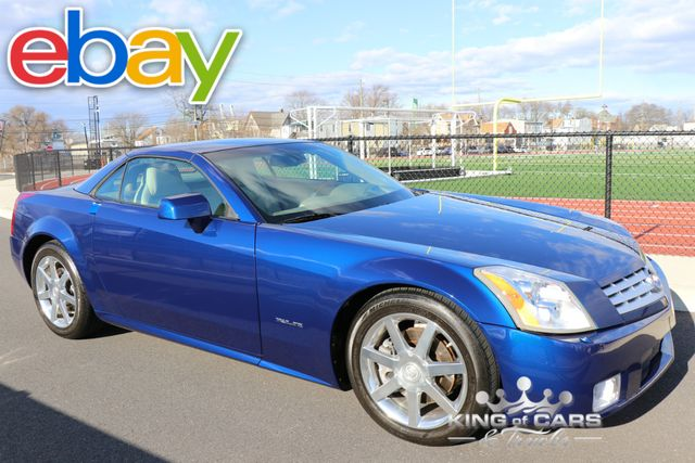 2004 Cadillac Xlr Convertible 10K ACTUAL MILES RARE XENON BLUE MINT 2 TOPS GARAGED