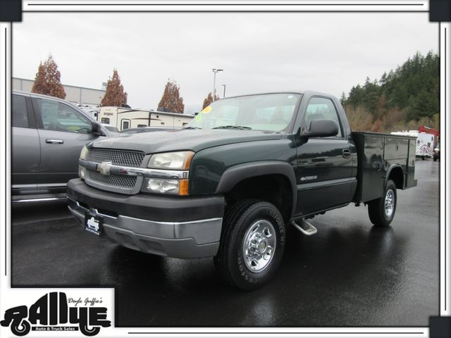 2004 Chevrolet 2500 HD Silverado Utility in Burlington WA, 98233