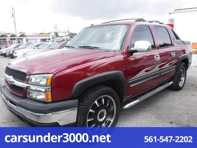 2004 Chevrolet Avalanche Z66 Lake Worth , Florida