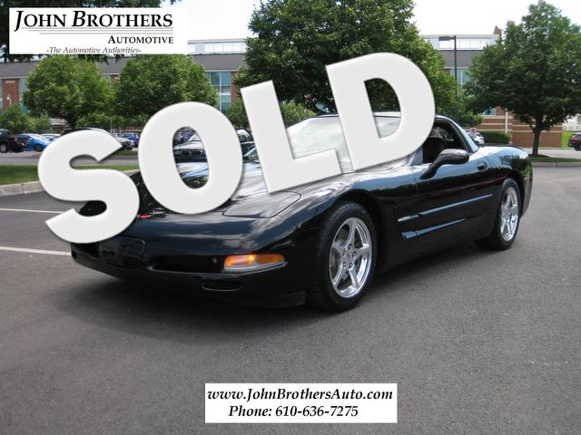 2004 Sold Chevrolet Corvette Conshohocken, Pennsylvania