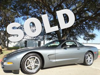 2004 Chevrolet Corvette Coupe Manual, Glass Top, Polished Wheels Only 50k! | Dallas, Texas | Corvette Warehouse  in Dallas Texas