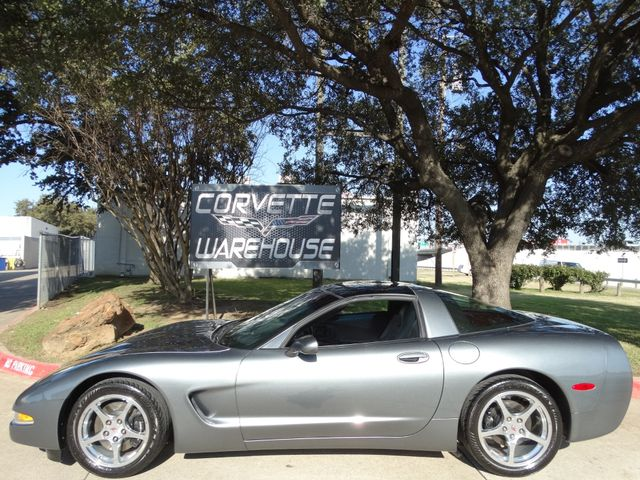 2004 Chevrolet Corvette Coupe Manual, Glass Top, Polished Wheels Only 50k! | Dallas, Texas | Corvette Warehouse  in Dallas Texas