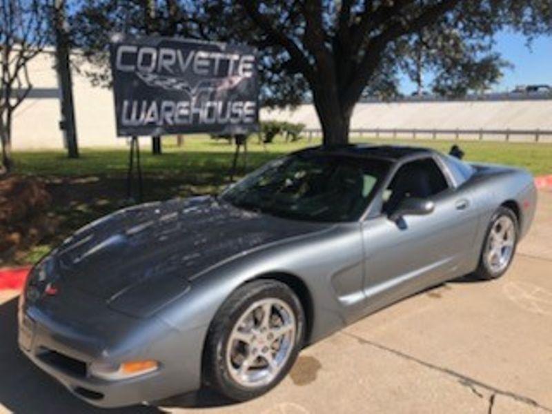 2004 Chevrolet Corvette Coupe Manual, Glass Top, Polished Wheels Only 50k!   Dallas, Texas   Corvette Warehouse