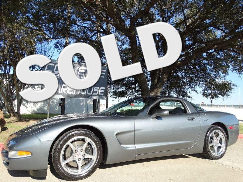 2004 Chevrolet Corvette Coupe Manual, Glass Top, Polished Wheels Only 50k! | Dallas, Texas | Corvette Warehouse