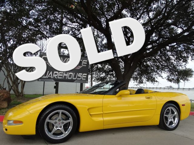 2004 Chevrolet Corvette Convertible 1SB Pkg, HUD, Polished Wheels, 43k!   Dallas, Texas   Corvette Warehouse  in Dallas Texas