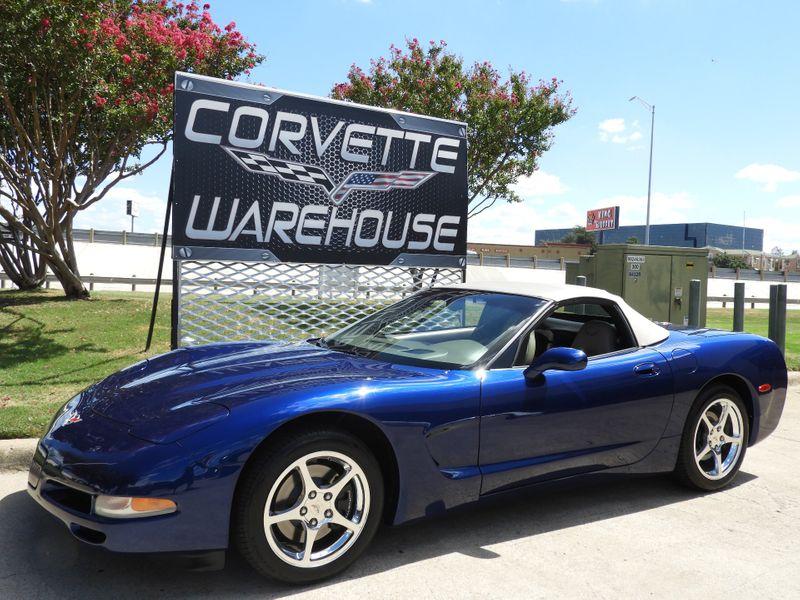 2004 Chevrolet Corvette Commemorative Edition Conv, Auto, Borla, Only 30k! | Dallas, Texas | Corvette Warehouse