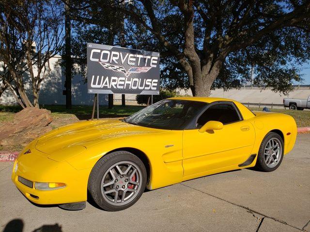 2004 Chevrolet Corvette Z06 Hardtop, Manual, CD, HUD, Z06 Alloy Wheels 68k