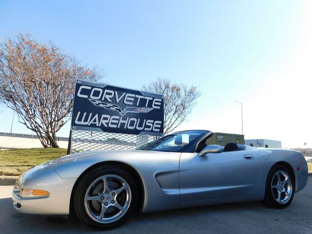 2004 Chevrolet Corvette Convertible 1SB, F55, Auto, Polished Wheels 42k
