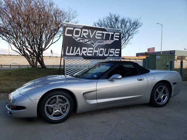 2004 Chevrolet Corvette Convertible 1SB Pkg, Corsa, Polished Wheels 50k