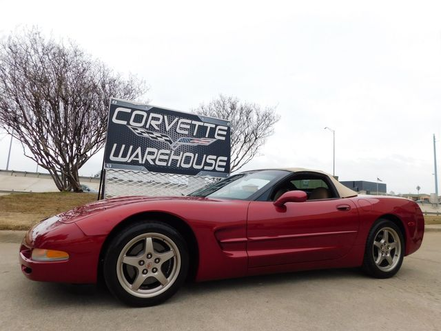 2004 Chevrolet Corvette Convertible HUD, F55, 6-Speed, Magnesiums 78k