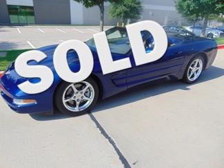 2004 Chevrolet Corvette 34,651 ORIGINAL MILES COMMEMORATIVE CV   Grapevine, TX   Corvette Center Dallas in Dallas TX