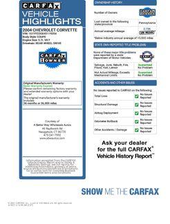 2004 Chevrolet Corvette Naugatuck, Connecticut 1