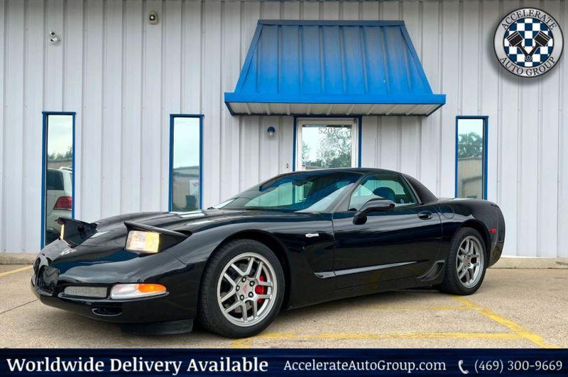 2004 Chevrolet Corvette Z06 6-SPD MANUAL PERF HANDLING PKG VERY NICE in Rowlett Texas