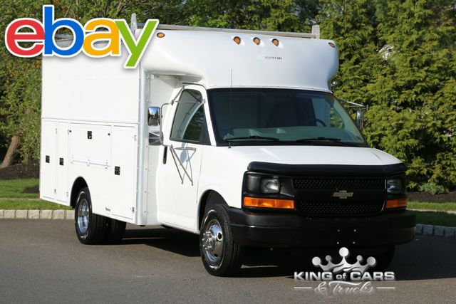 2004 Chevrolet Express 3500 DRW UTILITY SERVICE LOW MILES 1-OWNER WOW