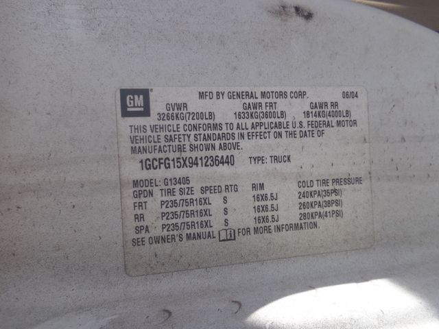 2004 Chevrolet Express Cargo Van Hoosick Falls, New York 7