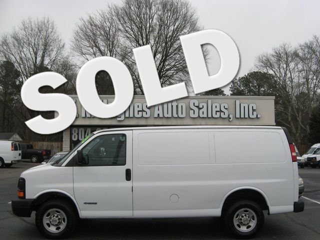 2004 Chevrolet Express Cargo Van Richmond, Virginia 0