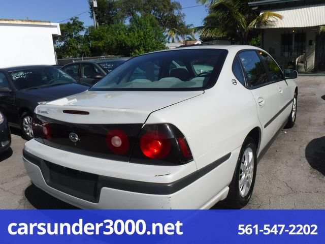2004 Chevrolet Impala Lake Worth , Florida 3