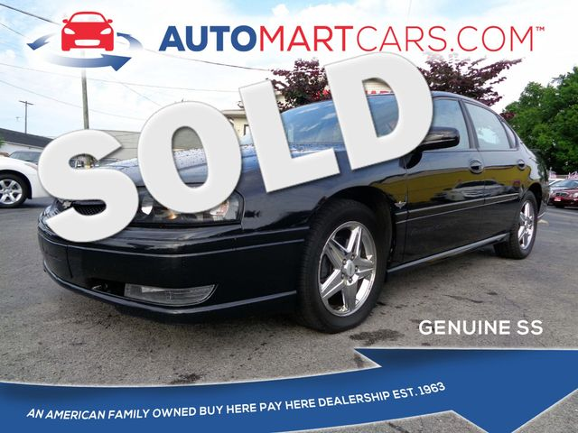 2004 Chevrolet Impala SS Supercharged   Nashville, Tennessee   Auto Mart Used Cars Inc. in Nashville Tennessee