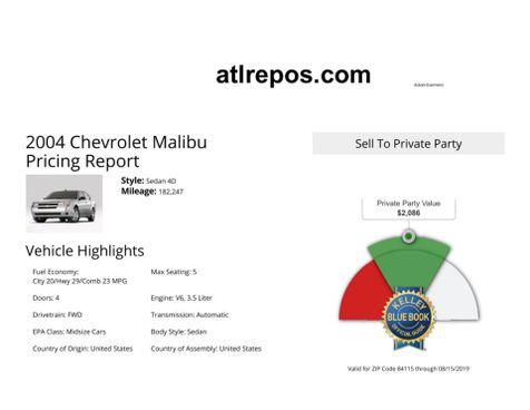 2004 Chevrolet Malibu LT in Salt Lake City, UT