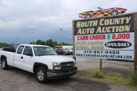 2004 Chevrolet Silverado 1500 Work Truck in Harwood, MD