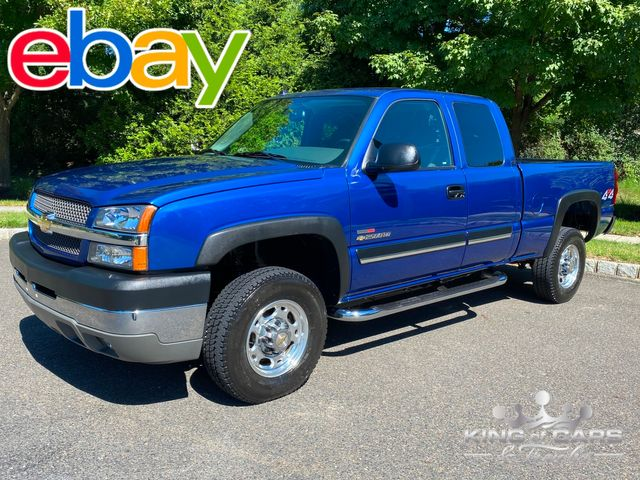 2004 Chevrolet Silverado 2500 4X4 6.6L DURAMAX RARE ONLY 15K MILES WOW 1-OWNER