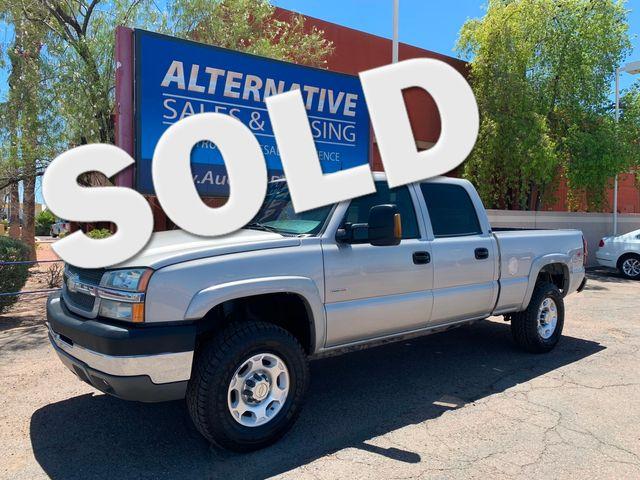 2004 Chevrolet Silverado 2500HD 4X4 LT DURAMAX 3 MONTH/3,000 MILE NATIONAL POWERTRAIN WARRANTY Mesa, Arizona