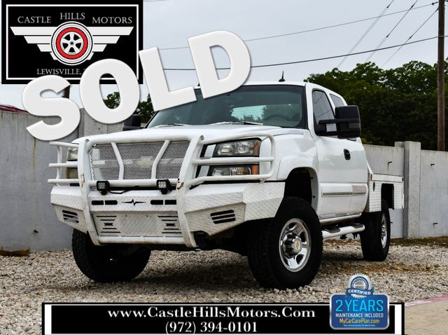 2004 Chevrolet Silverado 2500HD LS | Lewisville, Texas | Castle Hills Motors in Lewisville Texas