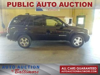 2004 Chevrolet TrailBlazer LT   JOPPA, MD   Auto Auction of Baltimore  in Joppa MD