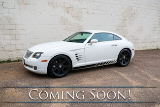 2004 Chrysler Crossfire Coupe w/6-Speed Manual, Blacked Out Wheels, Heated Seats and Magnaflow Exhaust in Eau Claire, Wisconsin 54703