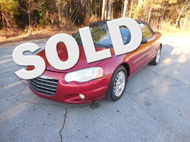 2004 Chrysler Sebring LXi Snellville , GA