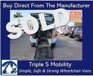 2004 Chrysler Town & Country Touring Wheelchair Van Handicap Ramp Van in Pinellas Park, Florida 33781