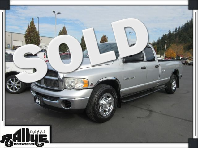 2004 Dodge 2500 Ram SLT 4WD 5.9L Diesel in Burlington WA, 98233