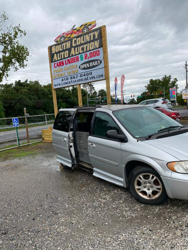 2004 Dodge Grand Caravan SXT  city MD  South County Public Auto Auction  in Harwood, MD