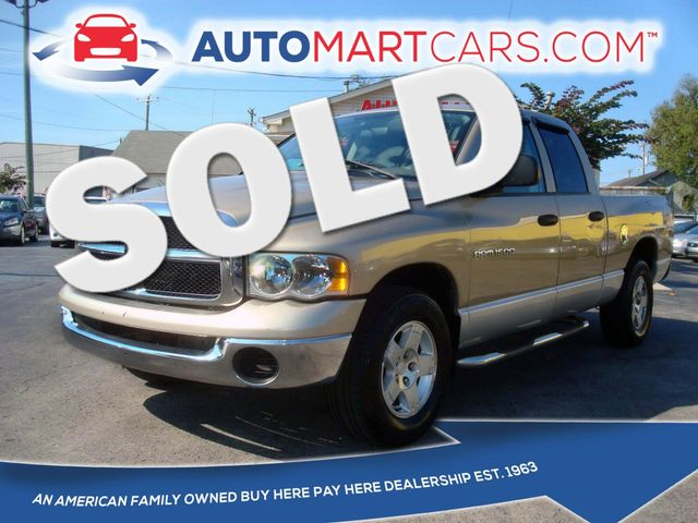 2004 Dodge Ram 1500 SLT | Nashville, Tennessee | Auto Mart Used Cars Inc. in Nashville Tennessee